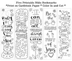 Check out our kids bible printable selection for the very best in unique or custom, handmade pieces from our digital prints shops. Five Instant Printable Color In Cute Bible Bookmarks Unlimited Use Bible Bookmark Bible Verse Coloring Bible Verse Coloring Page