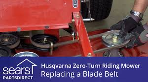 how to replace a husqvarna zero turn riding mower blade belt how to replace a husqvarna zero turn riding mower blade belt