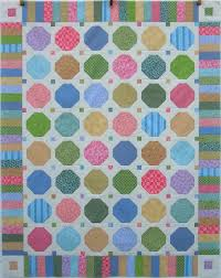 Quilt Inspiration: Free Pattern Day: Snowball Quilts & Scrappy Snowball Quilt, 53 x 67
