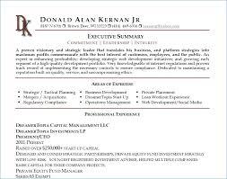 Resume Executive Summaries 10 Executive Summary For Resumes Energizecor Vallis