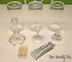 dollar candle holders thrifty hurricane tutorial dollar diy candle holders