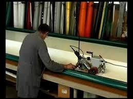 Automatic <b>Hot Air PVC Welding Machine</b> - YouTube
