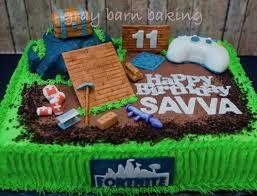 Fortnite Cake0000 For Night In 2019 Birthday Cake Teenage Boy