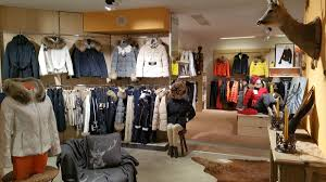 Fellay Mode and Sport Ski Rental, Verbier shop interior