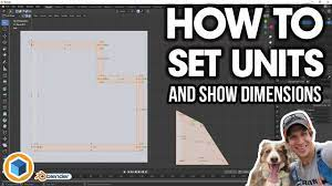 How to Change Units and SHOW DIMENSIONS in Blender - YouTube