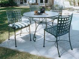 black wrought iron patio furniture. furniture wrought iron outdoor dining table with chair using black and white striped seat patio