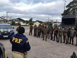 PRF e Exército Brasileiro realizam treinamento em conjunto | Segurança
