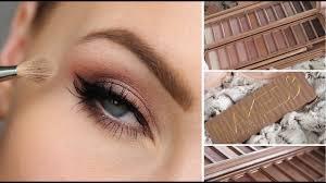 urban decay 3 eyeshadow palette tutorial
