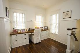 office wainscoting ideas. cottage home office with high ceiling builtin bookshelf dynasty hardware super saver wainscoting ideas