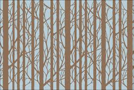 bare trees from the stencil library