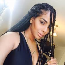 9 cute box braids hairstyle