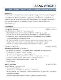 Customer Service Engineer Resume Windows Server Engineer Resume