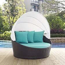 patio daybed with canopy.  With Latitude Run Ryele Canopy Outdoor Patio Daybed With Cushions U0026 Reviews   Wayfair To With Wayfaircom