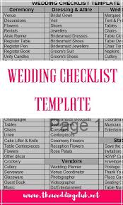 complete wedding checklist 25 cute wedding checklist template ideas on pinterest wedding