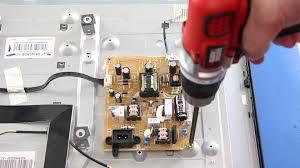 samsung tv model un32eh4003f. samsung tv power supply \u0026 main board replacement tutorial - un32eh4003fxzafxza youtube tv model un32eh4003f 0