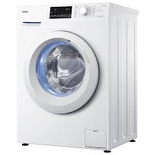 haier 8kg front loader washing machine. haier hw80-14636 - 7 kg washing capacity, free standing, durable, latest 8kg front loader machine h