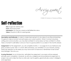 self reflection the visual communication guy designing writing self reflection