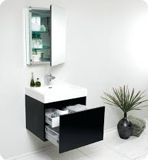 bathroom vanity sets the contemporary 24 single set with mirror by bosconi
