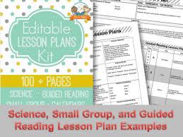 Lesson Plan Printable Template Printable Lesson Plans For Preschool Pre K And Kindergarten