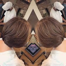 結ばなくても良い長さの髪型はひし形レイヤーボブのご紹介 Bump