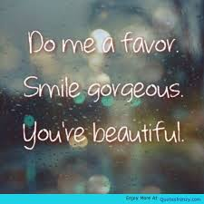 Beautiful Smile Quotes For Girl