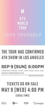Bts World Tour Tickets Hamilton Myvacationplan Org