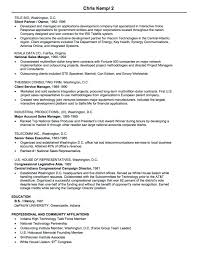 Executive Resume 100 Sales Resume Samples Hiring Managers Will Notice 61