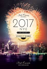 New Year Flyers Template New Year Flyer Template On Behance