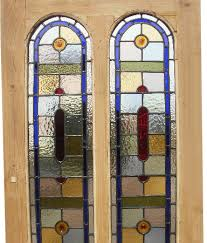 stained glass doors somerset