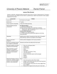 4 Year College Plan Template College Lesson Plan Template Template Business
