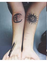 Sun And Moon Tattoos Tatuajes Tinta Ideas