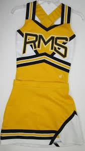 Varsity Cheer Uniform Size Chart Varsity Real Cheerleader Uniform Cheer Outfit Costume 32
