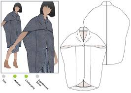 Coat Sewing Patterns Impressive Lux Coat Style Arc
