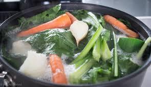 bone broth simmering away at wellnourished au