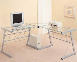 home office glass desk glass desk ikea l shaped home office