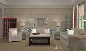transitional living room design. Rustic Transitional Living Room Design