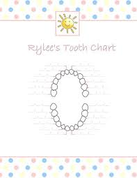 Tooth Chart For Losing Teeth Tooth Chart