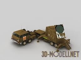 d модель ЗРК mim patriot контрольный центр ЗРК mim 104 patriot радарная установка