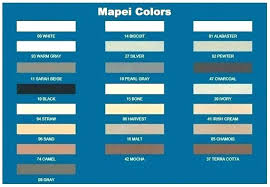 Lowes Grout Chart Mapei Grout Colors Grupoconsultorempresarial Com Co
