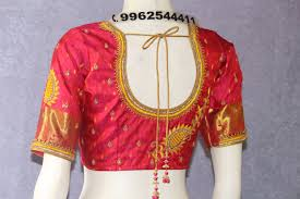 Designer Boutique Women S Blouse Stitching Womens Tailors Pattern Blouse Designers