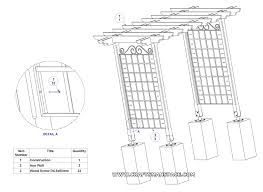Small Picture Garden arbor plans