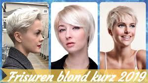 Die Modische 20 Ideen Zu Kurze Blonde Frisuren 2019