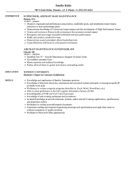 Maintenance Resume Sample Aircraft Maintenance Supervisor Resume Samples Velvet Jobs 33