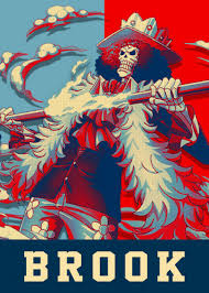 Brook One Piece' Metal Poster - Lost ...