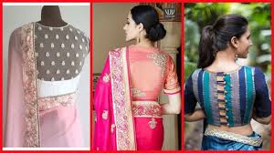 Blouse Design For Youngsters Latest Saree Blouse Designs Back For Girls Women