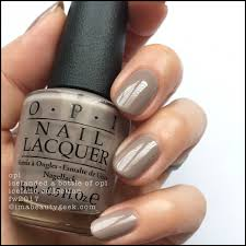 Opi Nail Color Chart 2017 Opi Iceland Swatches And Review Fw 2017 Collection Beautygeeks