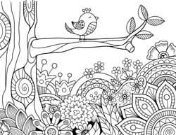 Explore 623989 free printable coloring pages for your kids and adults. 21 Spring Coloring Pages Free Printable Spring Adult Coloring Pages The Artisan Life
