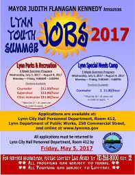 Lynn Youth Summer Jobs For 2017 Lynn Happens