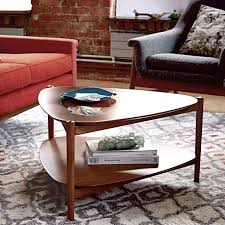 retro tripod coffee table west elm with plans 8