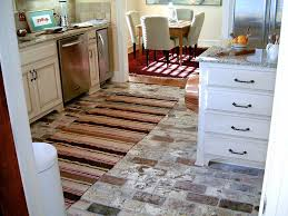 ceramic tile is a premium flooring but there are affordable options inexpensive brick kitchen flooring images